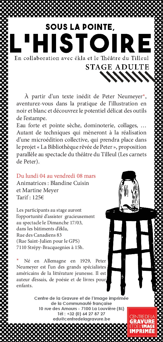Flyer stage Carnets Peter 002